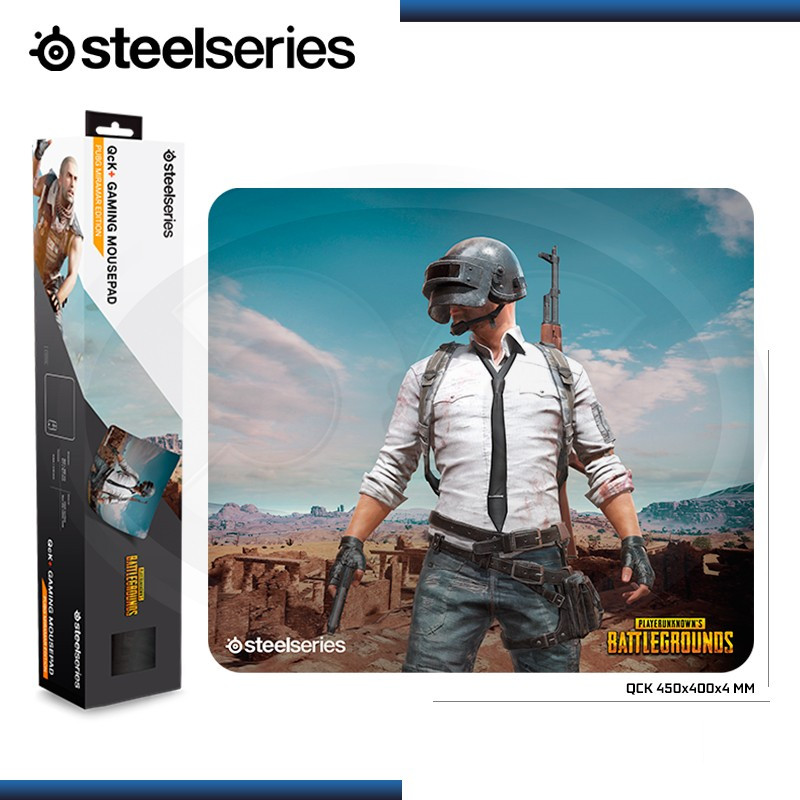 PAD MOUSE STEELSERIES QCK + PUBG MIRAMAR EDITION 450x400x4mm (PN:63808)
