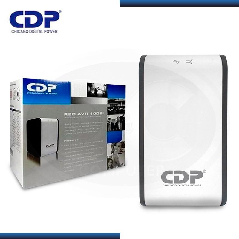 CDP R2C-AVR1008I ESTABILIZADOR 1000VA 8 TOMAS