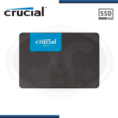 "DISCO DURO SOLIDO CRUCIAL BX500 480GB 2.5"" CT480BX500SSD1"