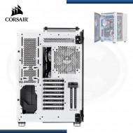 CASE CORSAIR CRYSTAL SERIES 680X RGB TEMPERED GLASS WHITE (PN: CC-9011169-WW )