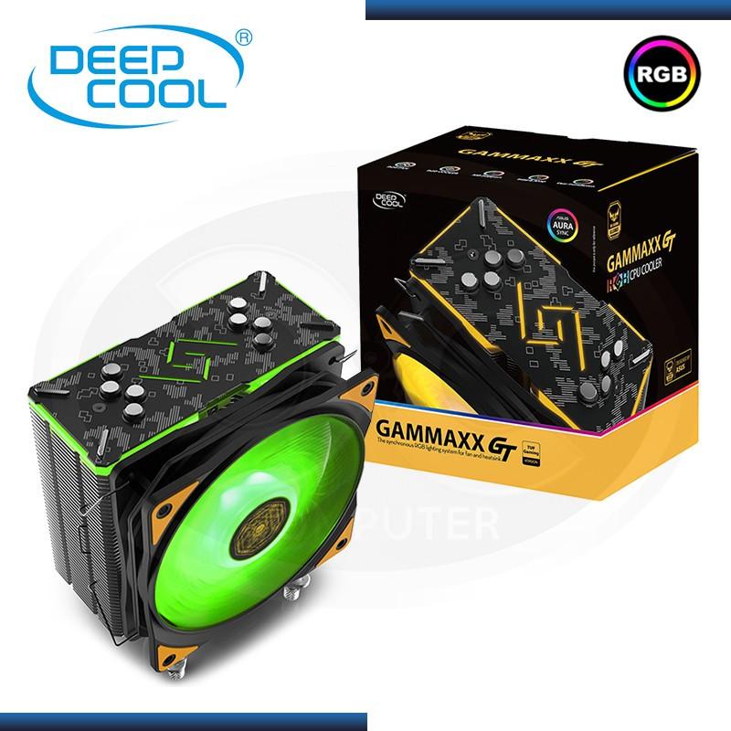 COOLER CPU DEEPCOOL GAMMAXX GT TGA TUF RGB AMD/INTEL REFRIGERACION AIRE (PN:DP-MCH4-GMX-GT-TUF)