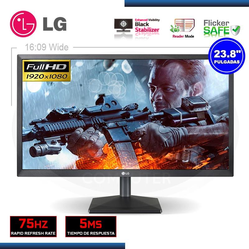 "MONITOR LED 23.8"" LG 24MK430H 1920x1080 HDMI/VGA"
