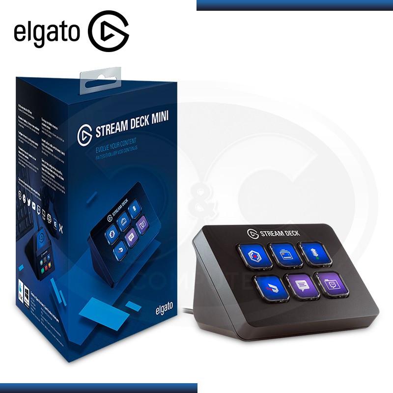 TECLADO MINI STREAM DECK ELGATO 6 TECLAS LCD PERSONALIZABLES (PN:10GAI9901)