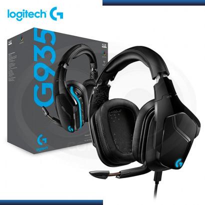 AUDIFONO C/MICRO 7.1 LOGITECH G935 WIRELESS BLACK/BLUE P/ XBOX ONE, NINTENDO, PC (PN 981-000742 )