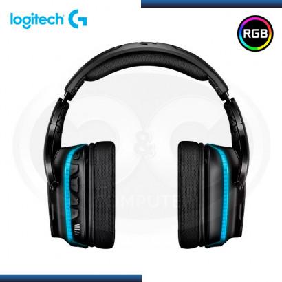 AUDIFONO C/MICROFONO 7.1 LOGITECH G635 RGB | BLACK /BLUE P/ XBOX ONE, PS4, PC (PN 981-000748 )