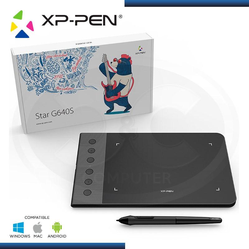 "TABLETA GRAFICA XP-PEN STAR G640S 5080 lpi | ÁREA ACTIVA: 6"" x 3.75"" | USB"