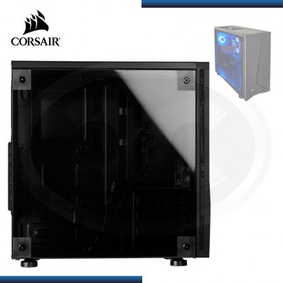 CASE CORSAIR CARBIDE SPEC-05 SIN FUENTE BLACK / PANEL ACRILICO / FAN LED RED (PN: 9011138-WW )