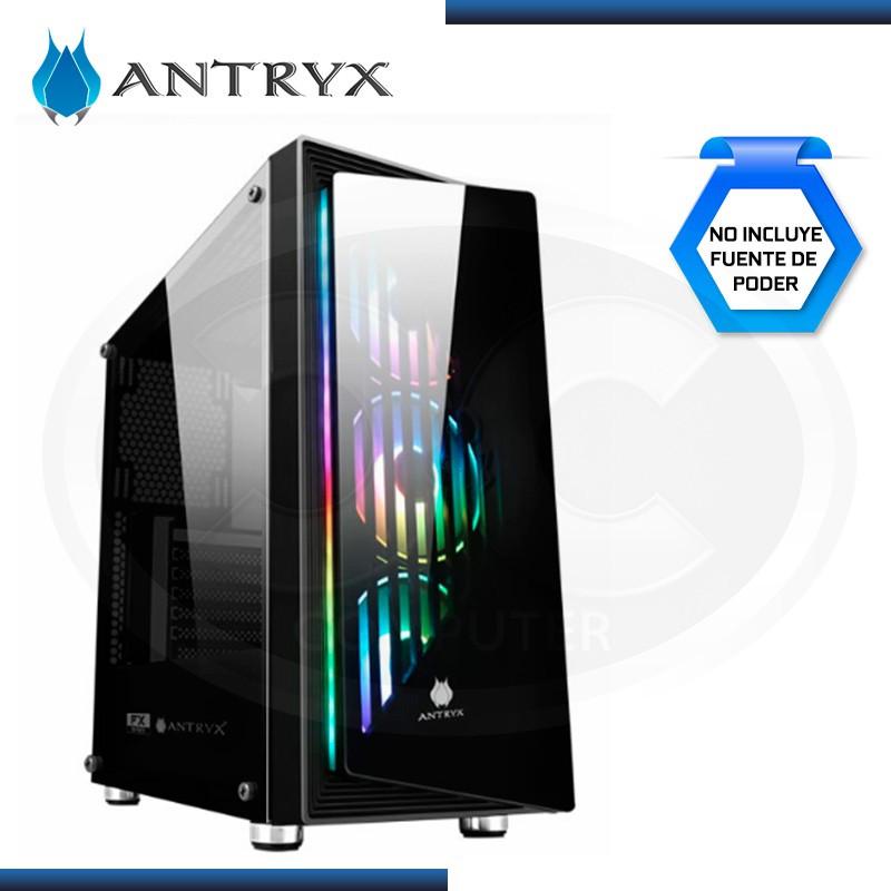 CASE ANTRYX FX GALAXY ARGB SIN FUENTE VIDRIO TEMPLADO USB 3.0/USB 2.0 (PN:AC-FX320K-T3DR)