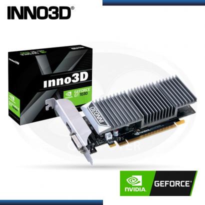 2GB PCI EXPRESS INNO 3D GEFORCE GT 1030 GDDR5 DVI+ HDMI  (PN:N1030-1SDV-E5BL)