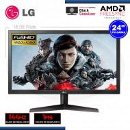 "MONITOR LED 24"" LG 24GL600F-B GAMING 1920x1080   1MS   144Hz   FreeSync   HDMI (G LG)"