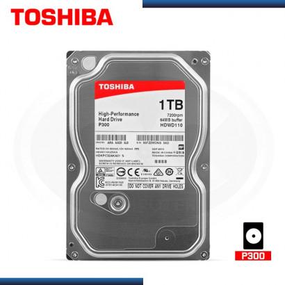 DISCO DURO INTERNO  TOSHIBA 1TB 7200 RPM, SATA3, 64MB (PN: HDWD110UZSVA )