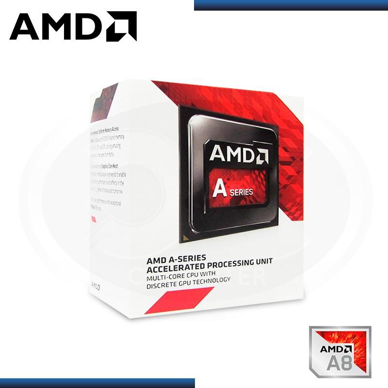 PROCESADOR AMD APU A8-7680 3.80GHZ/2MB 4CORE - FM2+ (PN:AD7680ACABBOX)