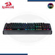 TECLADO GAMER REDRAGON INDRAH K555 LED RGB, MECÁNICO, SWITCHES RED, (N/P K551RGB-SP )