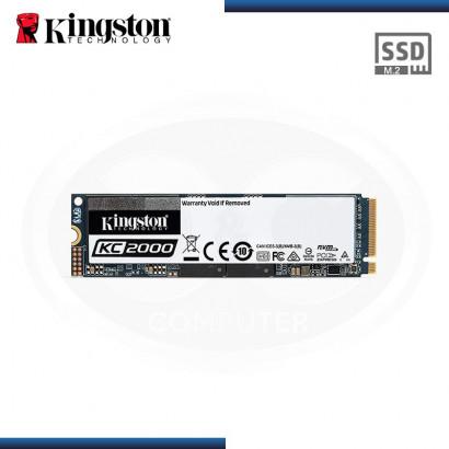 DISCO SOLIDO KINGSTON KC2000 | 500GB | M.2 | 2280 | PCIE NVME GEN 3.0 x4 (N/P SKC2000M8/500G )