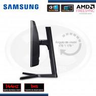 "MONITOR LED 24"" SAMSUNG GAMING LC24FG73FQLXPE CURVO HDMI, DP, HEADPHONE, BLACK (G.SAMSUNG 080077708)"