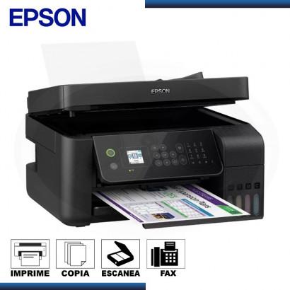IMPRESORA MULTIF. EPSON L5190, IMPRIME/ESCANEA/COPIA/FAX, USB/LAN/WIFI. C/ SISTEMA CONTINUO (PN:C11CG85303)