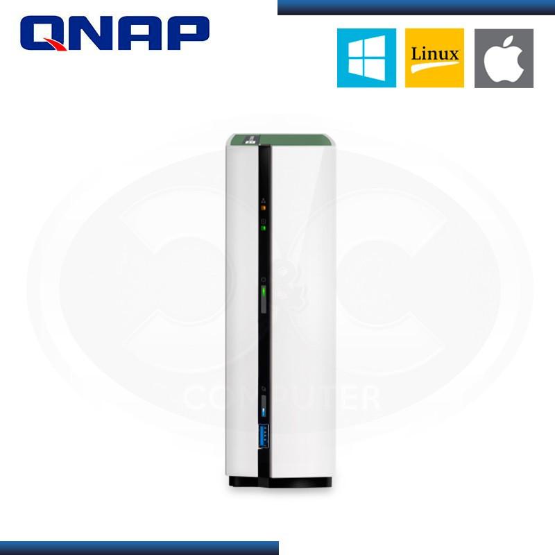 ALMACENAMIENTO NAS QNAP TS-128A QUAD-CORE 1GB DDR4 WHITE
