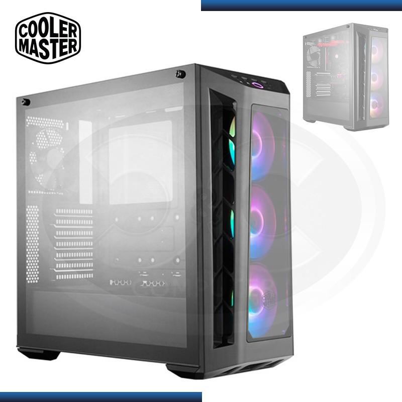 CASE COOLER MASTER MASTERBOX MB530P ARGB BLACK SIN FUENTE USB 3.0/USB 2.0 (PN:MCB-B530P-KHNN-S01)