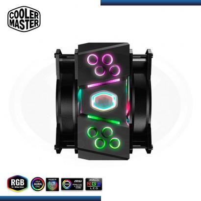 COOLER P/ CPU COOLER MASTER MASTERAIR MA410M / RGB / INTEL / AMD (PN: MAM-T4PN-218PC-R1 )