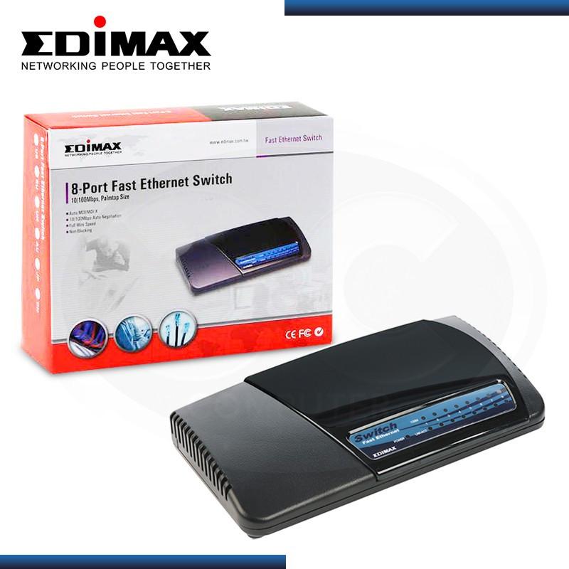 SWITCH EDIMAX ES-3108P 8 PUERTOS 10/100 MBPS