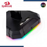 SOPORTE PARA AURICULARES GAMER REDRAGON SCEPTER HA 300, RGB