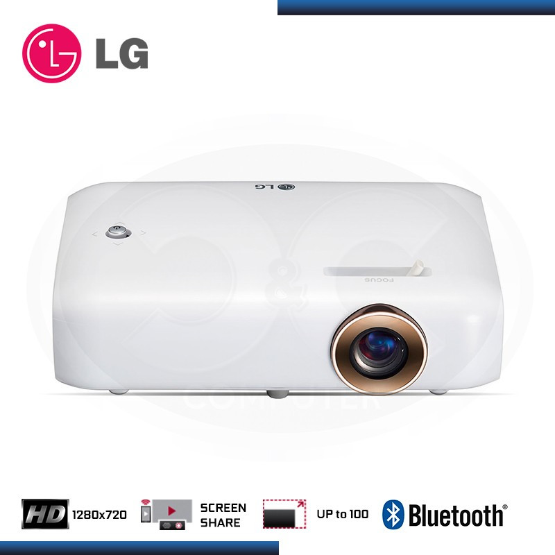 PROYECTOR LG PH550G CINEBEAM HD 1280x720 BLUETOOH BATERIA INCORPORADA