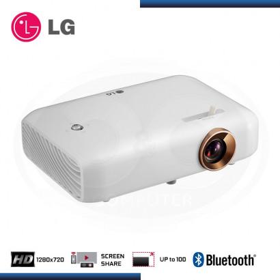 PROYECTOR LG PH550G 550 LÚMENES, 1280X720, HD, BLUETOOH CON BATERIA.