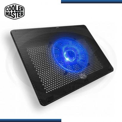 "COOLER NOTEBOOK COOLER MASTER NOTEPAL L2 | HASTA 17"" | FAN 16CM BLUE | USB 2.0 (PN: MNW-SWTS-14FN-R1 )"
