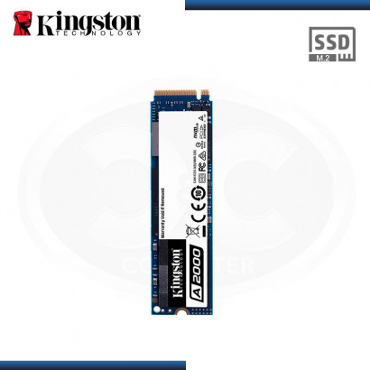 DISCO ESTADO SOLIDO KINGSTON A2000 500 GB SATA M.2 2280 PCI E NVME (PN:SA2000M8/500G)