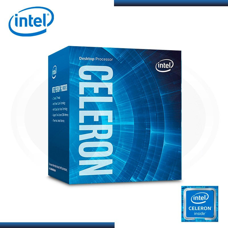 PROCESADOR INTEL CELERON G3900 2.80GHZ/2MB LGA1151