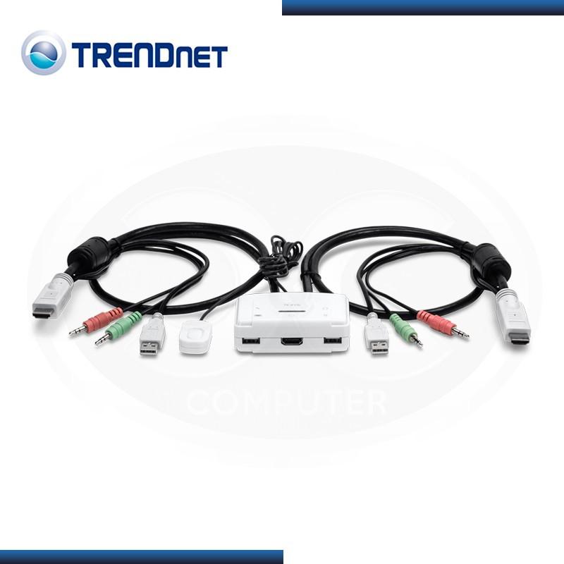 KVM TRENDNET TK-215i 2 PUERTOS HDMI