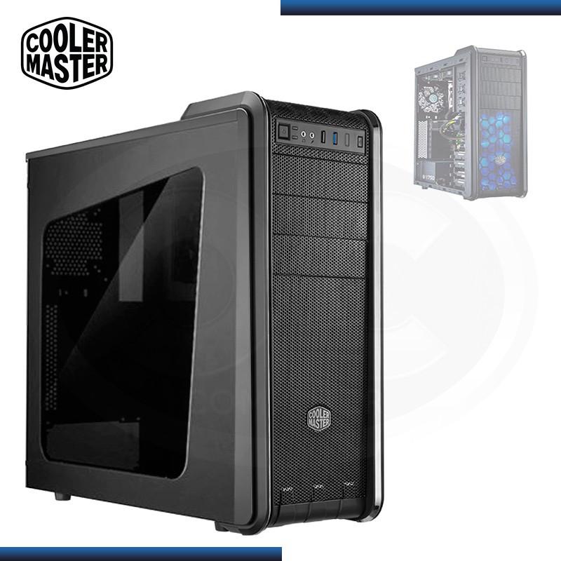CASE COOLER MASTER CM 590 III SIN FUENTE BLACK USB 3.0/USB 2.0 (PN:RC-593-KWN2)
