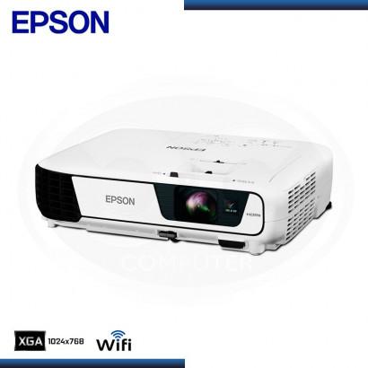 PROYECTOR EPSON POWERLITE X36+, 3600 LÚMENES, (V11H723021)