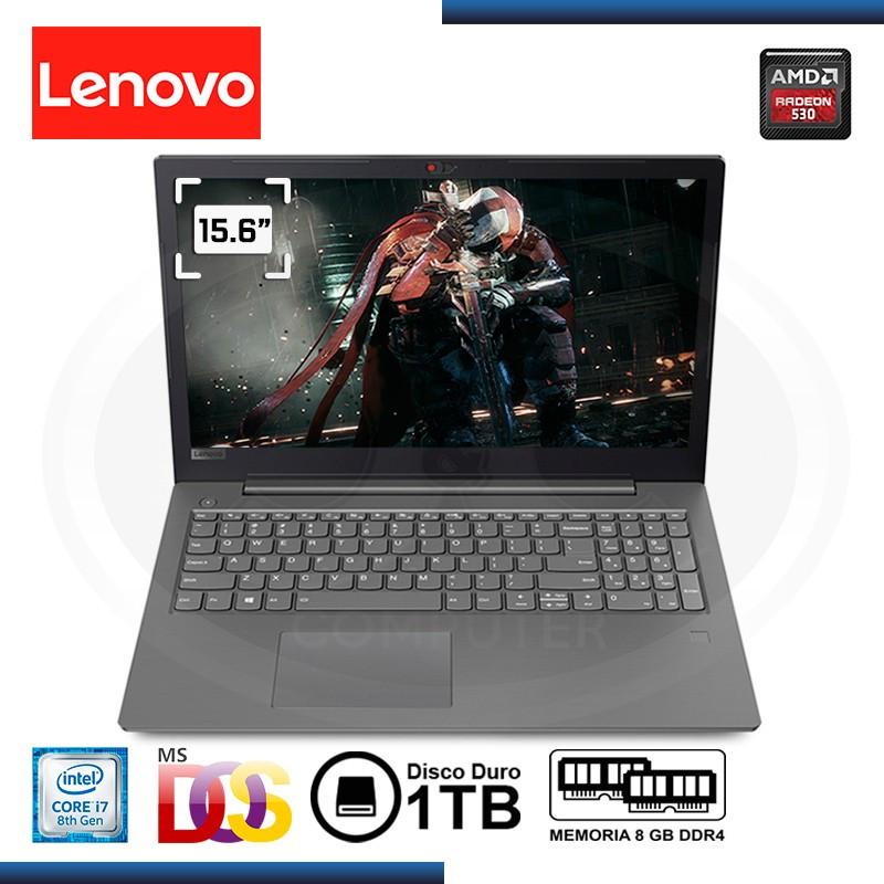 "NOTEBOOK LENOVO V330-15IKB CI7-8550U 1.8GHZ 15.6"" 8GB 1TB RADEON 530 2GB DDR5 FREEDOS (PN:81AX000RLM)"
