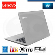 "NOTEBOOK LENOVO IP330-14IGM CELERON N4000 1.1GHz   4GB   1TB   14""   FREEDOS (PN: 81D00018LM ) GTIA LA MARCA"