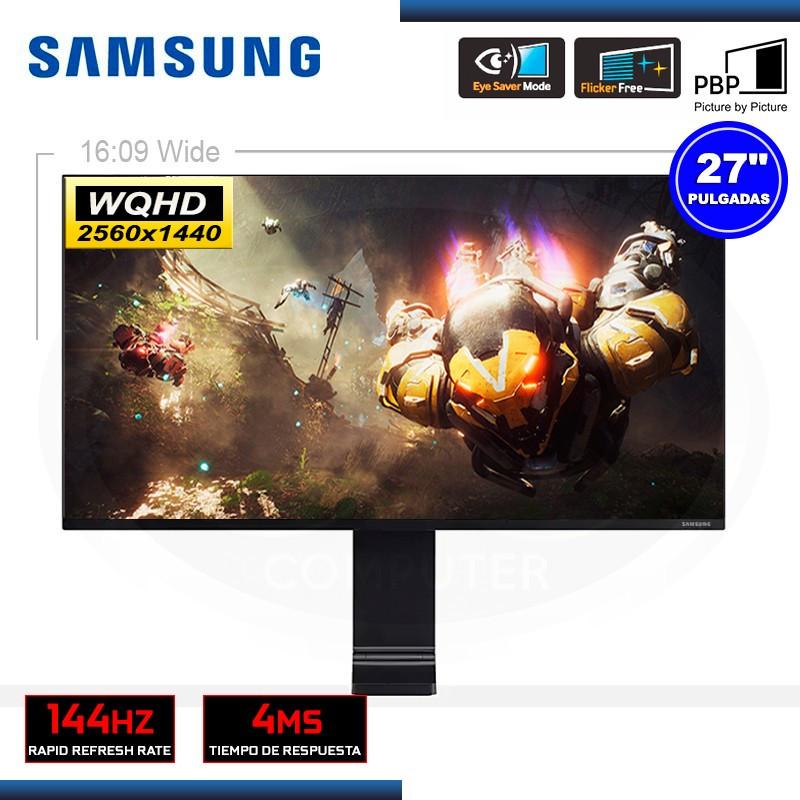 "MONITOR LED 27"" SAMSUNG LS27R750QELXPE 2560x1440 HDMI MINI-DP 4MS/144Hz"