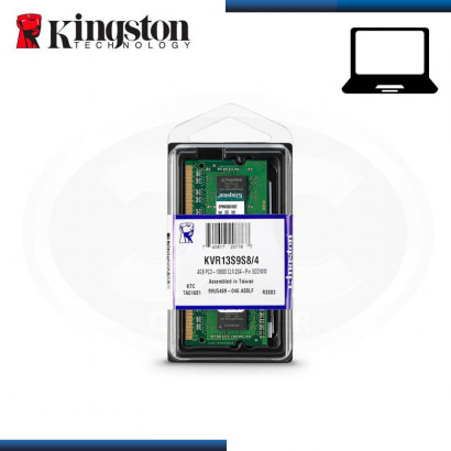 MEMORIA 4GB DDR3 KINGSTON...
