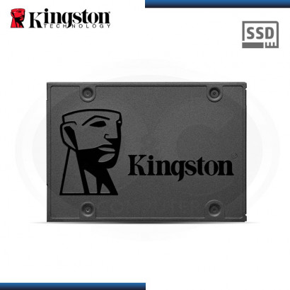 "DISCO DURO SOLIDO KINGSTON SSDNOW A400 480 GB SATA3 6GB/s,  2.5"", (PN: SA400S37/480G )"