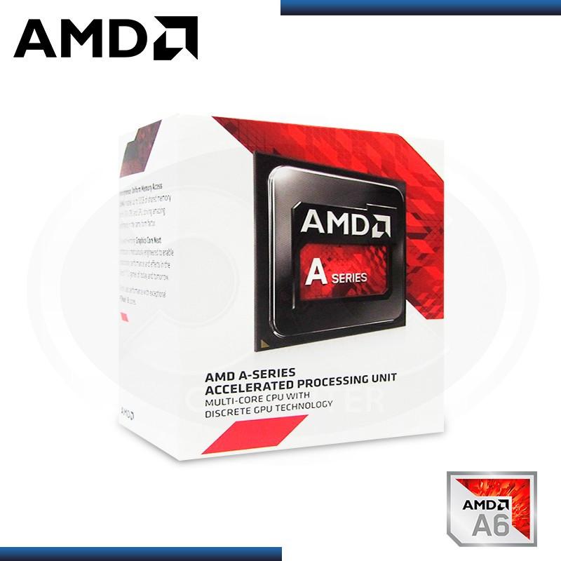 PROCESADOR AMD APU A6 - 7480 /3.8GHZ 1MB S.FM2+ (AD7480ACABBOX)