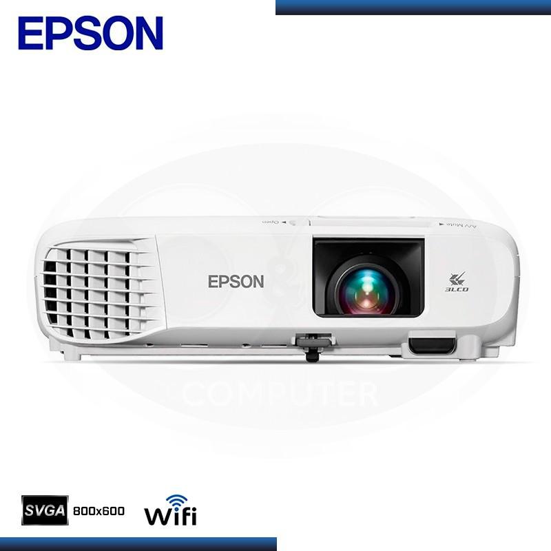 PROYECTOR EPSON POWERLITE S39 SVGA 3LCD WIRELESS