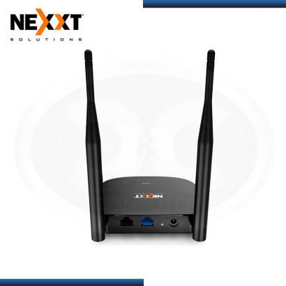 ROUTER WIRELESS NEXXT NYX 300 MBPS 2.4 GHZ | 2 PTOS RJ45 | 2 ANTENAS (N/P ARNEL304U1 )