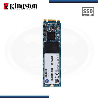 DISCO ESTADO SOLIDO KINGSTON A400 120 GB SATA 3 M.2  2280 (PN:SA400M8/120GB)