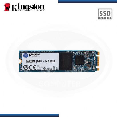 DISCO ESTADO SOLIDO KINGSTON A400 120 GB SATA 3 M.2  2280 (PN:SA400M8/120GB)