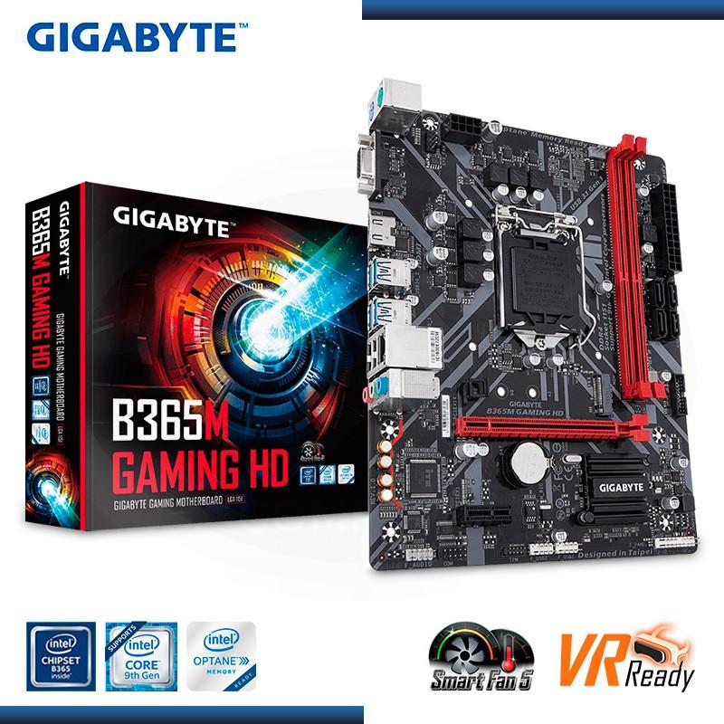 MB GIGABYTE B365M GAMING HD DDR4 LGA1151 - NOVENA GENERACIÓN