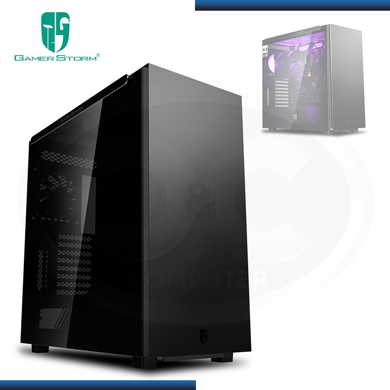 CASE GAMER STORM MACUBE 550 BLACK SIN FUENTE VIDRIO TEMPLADO FULL TOWER USB 3.0 (PN:GS-ATX-MACUBE550-BKGOP)