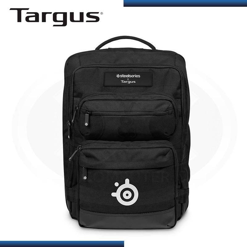 """MOCHILA TARGUS SNIPER STEELSERIES GAMING 17.3"""" BLACK (PN:TSB941BT-70)"""