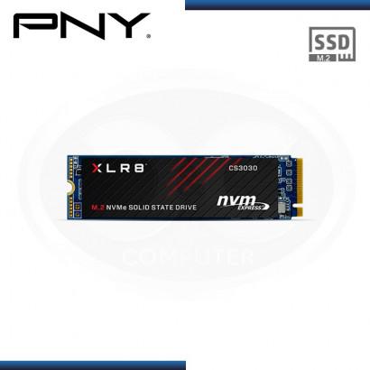 UNIDAD DE ESTADO SOLIDO PNY CS3030 250GB M.2   NVMe PCI-E GEN 3 x4   3,500 MB/s   1,050 MB/s (PN: M280CS3030-250-RB )