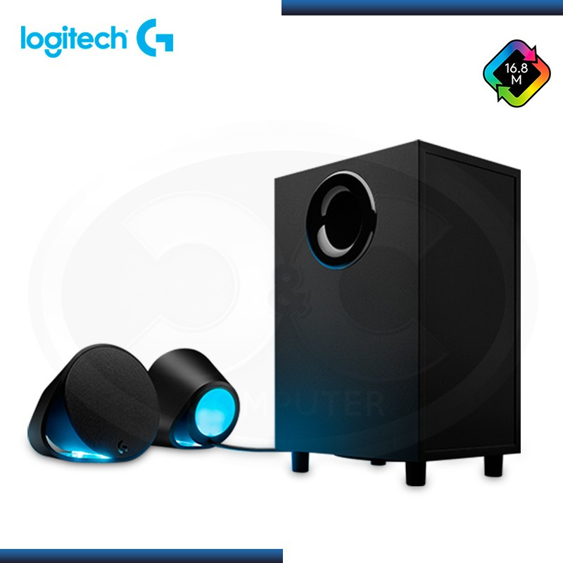 LOGITECH G560 LIGHTSYNC RGB SISTEMA ALTAVOCES 2.1 GAMING BLACK (PN:980-001300)