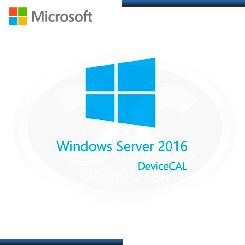 MICROSOFT WINDOWS SERVER 2016 1 LICENCIA CAL SINGLE LANGUAGE (PN:R18-05121)