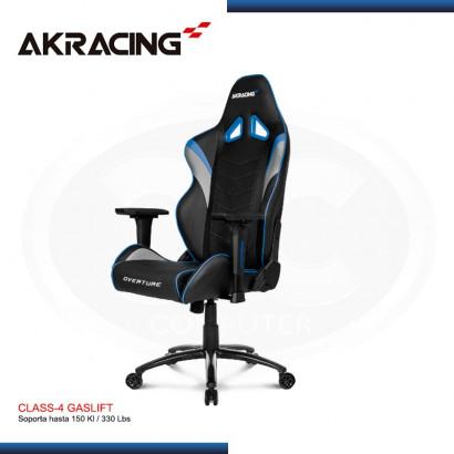 SILLA GAMER AK-RACING OVERTURE SERIES BLUE (PN: AK-OVERTURE-BL )